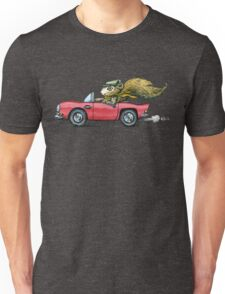Driver Squirrel Unisex T-Shirt