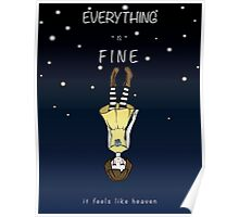 Fran Bow - Falling In Heaven Poster
