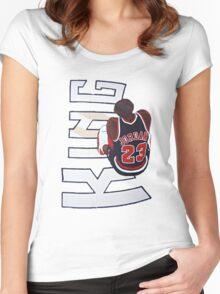 King Jordan Women's Fitted Scoop T-Shirt