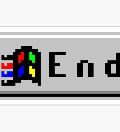 End 95 Sticker