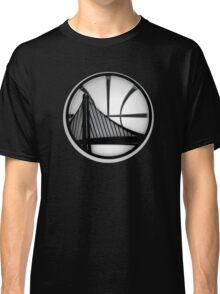 golden state warriors black Classic T-Shirt
