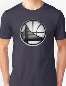 golden state warriors black Unisex T-Shirt
