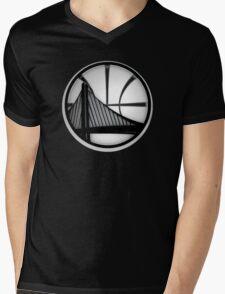 golden state warriors black Mens V-Neck T-Shirt