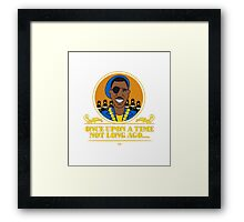 Smile To Law in Low Framed Print