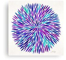 Lavender Burst Canvas Print