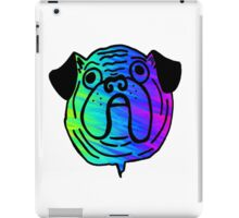 Psychedelic Pug Dog iPad Case/Skin