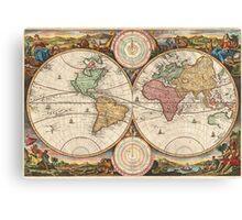 Around the world.. Wanderlust! Canvas Print