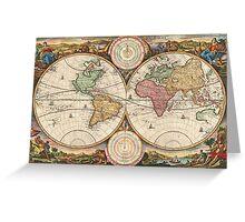 Around the world.. Wanderlust! Greeting Card