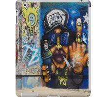 Cool Graffiti Artist iPad Case/Skin