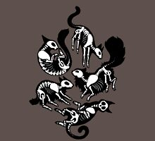 Creepy Kitty Unisex T-Shirt