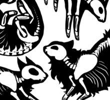 Creepy Kitty Sticker