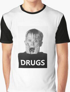 Macaulay Culkin -Drugs- Graphic T-Shirt