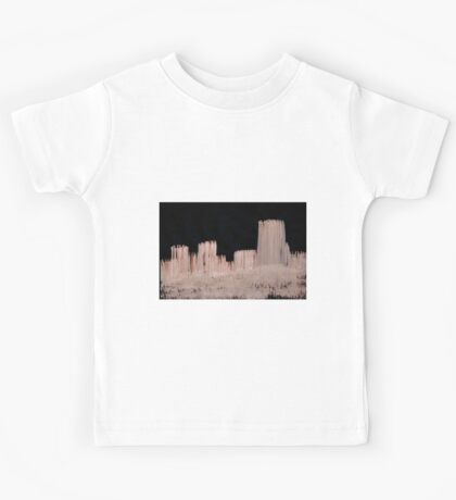 0083 - Brush and Ink - Skyline Blocked Out Kids Tee