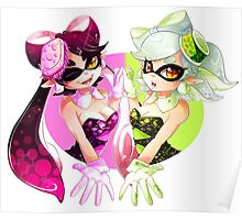 Splatoon: Squid Sisters Poster