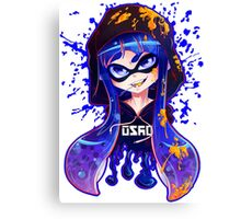 Splatoon: Inkshot Canvas Print