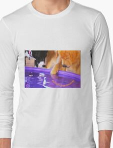 """""""Panning for Golden"""" (with logo) Long Sleeve T-Shirt"""