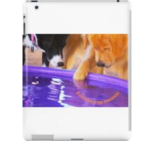 """""""Panning for Golden"""" (with logo) iPad Case/Skin"""