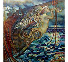 figurehead or ... fishing Photographic Print