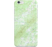 USGS TOPO Map Alabama AL Sleeping Giants 305062 1987 24000 iPhone Case/Skin