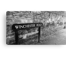 Winchester Road Canvas Print
