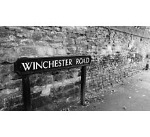 Winchester Road Photographic Print