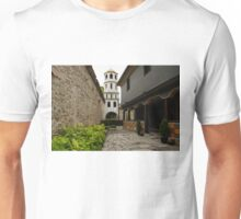 Of Courtyards and Belfries  Unisex T-Shirt