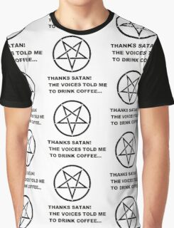 Thanks Satan! Graphic T-Shirt