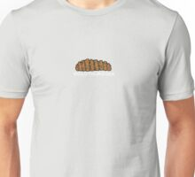 Holothuroidea (White Lettering) Unisex T-Shirt