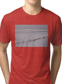 Fertile Farm Fields Sleeping Under the Snow Tri-blend T-Shirt