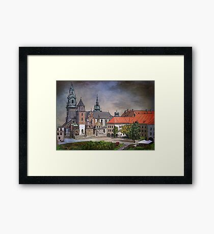 Cracow.World Youth Day in 2016. Framed Print