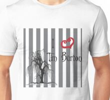 I love Tim Burton Unisex T-Shirt