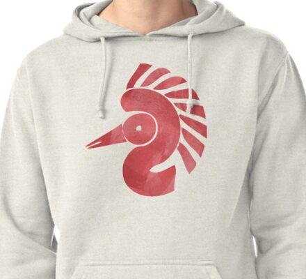 Symbolic bird Pullover Hoodie
