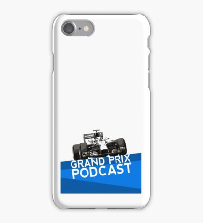 Grand Prix Podcast iPhone Case/Skin