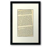 Reversed Killer Text Framed Print