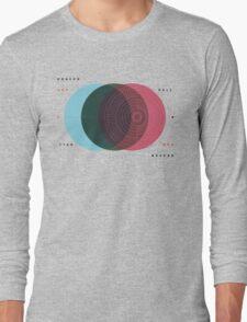 Emanuel Swedenborg's Heaven and Hell Long Sleeve T-Shirt