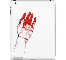 Blood hand iPad Case/Skin