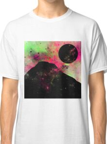 A World Of Colour - Abstract Space Scene Classic T-Shirt