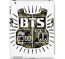 BTS Bulletproof Camo iPad Case/Skin