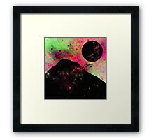 A World Of Colour - Abstract Space Scene Framed Print