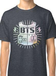 BTS Bulletproof Rainbow Watercolor Classic T-Shirt