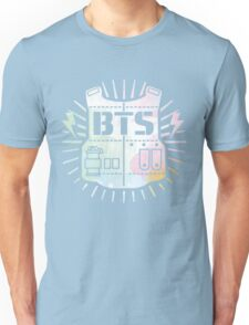 BTS Bulletproof Rainbow Watercolor Unisex T-Shirt