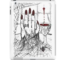 Blood, Chalice, Black Widow iPad Case/Skin