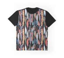 Graphic pattern of autumn leaves Graphic T-Shirt