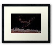 0078 - Brush and Ink - Vise Framed Print