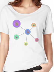 I See Planets Abstract Art Women's Relaxed Fit T-Shirt
