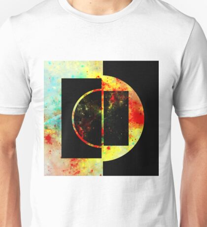 Geometric Space Unisex T-Shirt