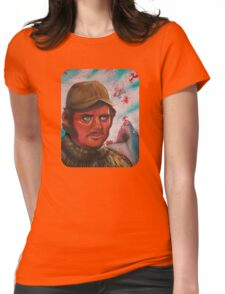 Like A dolls Eyes  Womens Fitted T-Shirt