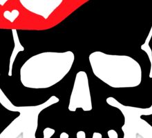 Love & Crossbones Sticker