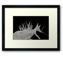 0064 - Brush and Ink - Denning Framed Print