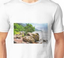 On the shores of Loch Ness - AGAIN Unisex T-Shirt